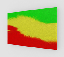 "Load image into Gallery viewer, ""Rasta Sensation I"" Fine Art Canvas"