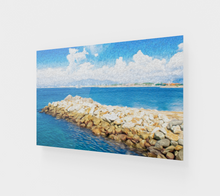"Load image into Gallery viewer, ""The Jetty in Manzanillo, Mexico"" Fine Art Acrylic Print"