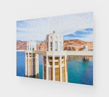 "Load image into Gallery viewer, ""Hoover Dam"" Fine Art Acrylic Print"