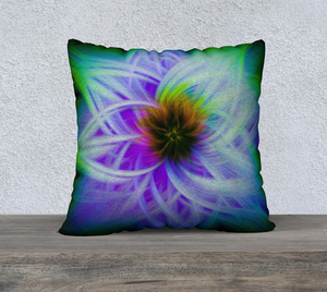 """Magnificent Wonder 2"" 22""x22"" Fine Art Pillow Case"