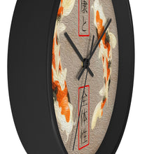 "Load image into Gallery viewer, ""Asian Reflections 10"" 10"" Fine Art Wall Clock"