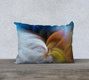 """Convergence 2"" 20""x14"" Fine Art Pillow Case"