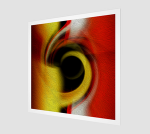 """Spatial Gateway Series: Temporal Vortex 1"" Fine Art Print"