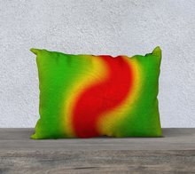 "Load image into Gallery viewer, ""Rasta Vibes VI"" - RB 20""x14"" Fine Art Pillow Case"