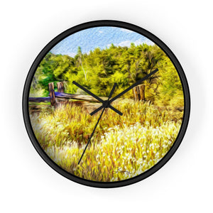 """A Place of Serenity 1"" 10"" Fine Art Wall Clock"