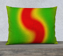 "Load image into Gallery viewer, ""Rasta Vibes III"" - RT 26""x20"" Fine Art Pillow Case"