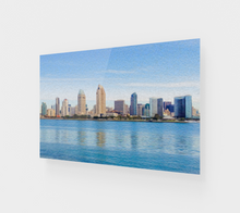 "Load image into Gallery viewer, ""America's Finest City"" Fine Art Acrylic Print"