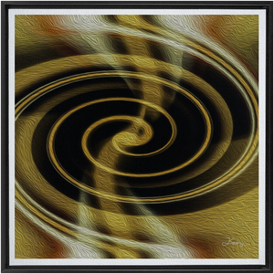 Dimensional Paradox 1 Framed Fine Art Canvas (G)