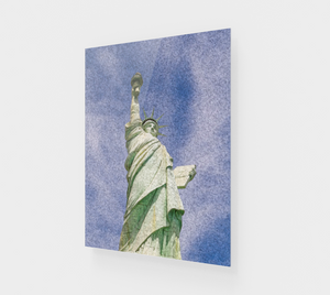 """Lady Liberty"" Fine Art Acrylic Print"