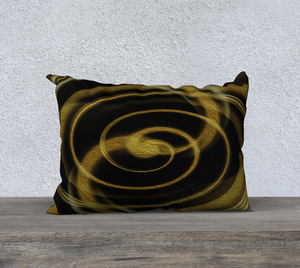 """Dimensional Paradox 5"" 20""x14"" Fine Art Pillowcase"
