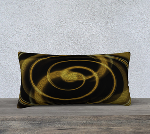 """Dimensional Paradox 5"" 24""x12"" Fine Art Pillowcase"