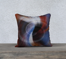 "Load image into Gallery viewer, ""Color Dissonance"" 18""x18"" Pillow Case SQ"