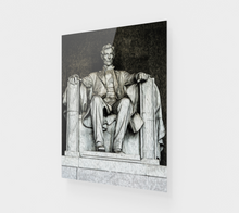 "Load image into Gallery viewer, ""Lincoln Memorial"" Fine Art Acrylic Print"