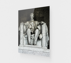 """Lincoln Memorial"" Fine Art Acrylic Print"
