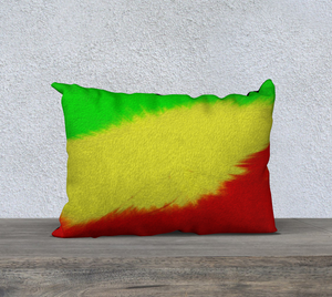 """Rasta Sensation II"" 20""x14"" Fine Art Pillow Case"