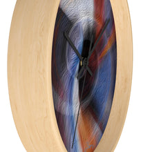 "Load image into Gallery viewer, ""Color Dissonance 1"" 10"" Fine Art Wall Clock"