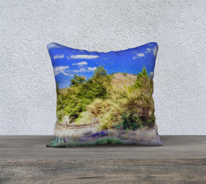 """A Place of Serenity II"" 18""x18"" Fine Art Pillow Case"