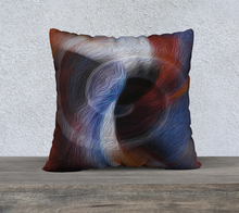 "Load image into Gallery viewer, ""Color Dissonance"" 22""x22"" Pillow Case SQ"