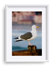 "Load image into Gallery viewer, ""A Bird's Eye View"" Matted Fine Art Print"