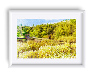 """A Place of Serenity 1"" Matted Fine Art Print"