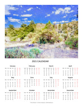 "Load image into Gallery viewer, ""A Place of Serenity 2"" 17x22 inch 2021 Fine Art Calendar"