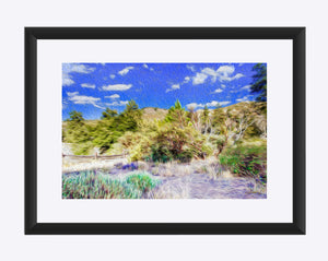 """A Place of Serenity 3"" Matted Fine Art Print"