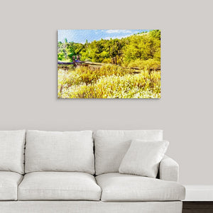 """A Place of Serenity 1"" Fine Art Metal Print"