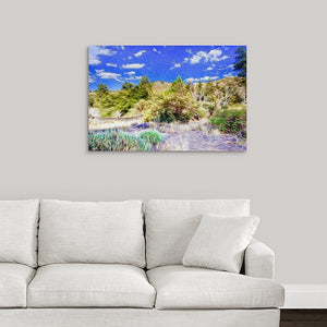 """A Place of Serenity 2"" Fine Art Metal Print"