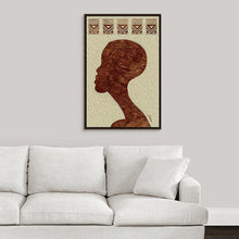 "Load image into Gallery viewer, ""African Man Profile"" Fine Art Canvas"