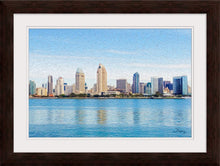 "Load image into Gallery viewer, ""America's Finest City"" Framed Fine Art Expression"