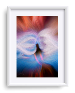 """Ascension"" Matted Fine Art Print"