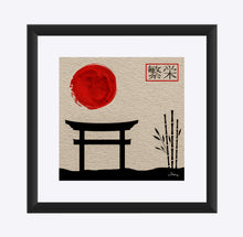 "Load image into Gallery viewer, ""Asian Reflections 5"" Matted Fine Art Print"