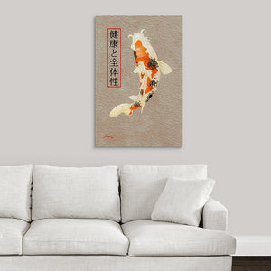 """Asian Reflections 10"" Fine Art Acrylic"