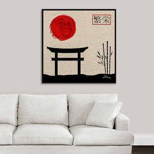 """Asian Reflections 5"" Fine Art Canvas"