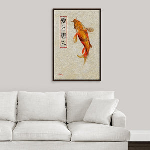 """Asian Reflections 8"" Fine Art Canvas"