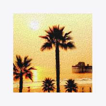 "Load image into Gallery viewer, ""At the Beach in Oceanside, California"" Matted Fine Art Print"