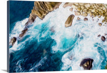"Load image into Gallery viewer, ""Cliffs in Acapulco 2"" Fine Art Canvas"