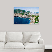 "Load image into Gallery viewer, ""Cliffs in Acapulco 1"" Fine Art Acrylic"