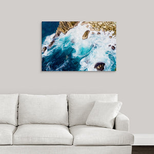 """Cliffs in Acapulco 3"" Fine Art Metal Print"