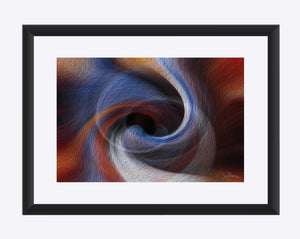 """Color Dissonance 3"" Matted Fine Art Print"