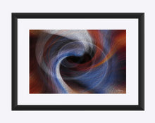 "Load image into Gallery viewer, ""Color Dissonance 4"" Matted Fine Art Print"