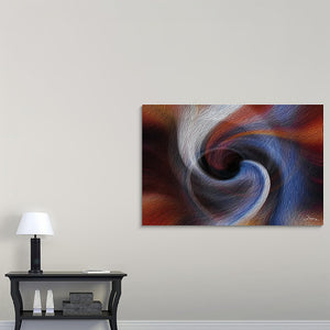 """Color Dissonance 2"" Fine Art Canvas"