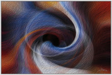 "Load image into Gallery viewer, ""Color Dissonance 3"" Fine Art Canvas"