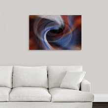 "Load image into Gallery viewer, ""Color Dissonance 4"" Fine Art Metal Print"
