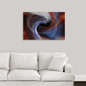 """Color Dissonance 4"" Fine Art Metal Print"