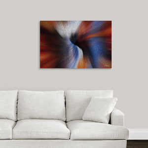 """Color Dissonance 5"" Fine Art Metal Print"