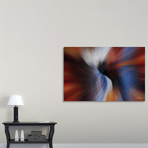 """Color Dissonance 5"" Fine Art Canvas"