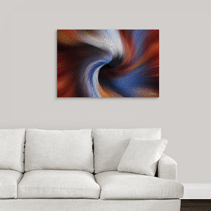 """Color Dissonance 6"" Fine Art Metal Print"
