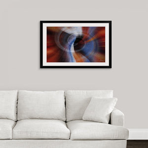 """Color Dissonance 1"" Framed Fine Art Expression"