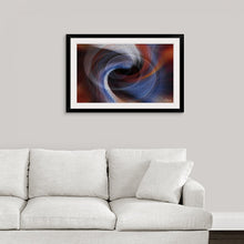 "Load image into Gallery viewer, ""Color Dissonance 4"" Framed Fine Art Expression"
